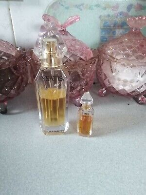 £40 • Buy GGivenchy Ysatis  EDT Spray 30ml USED. Also  Miniature  7.5 Ml Used With Black P