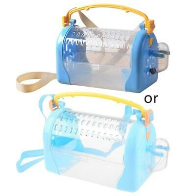 £13.97 • Buy Hamster Travel Carrier Plastic Cage Parrot Outing Carrying Case For Squirrel