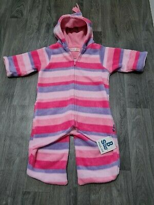 £9.99 • Buy BUGGY SNUGGLE Pushchair Carseat Pram Suit 0-6 Months Girls,Pink,Fleece,Cosytoes