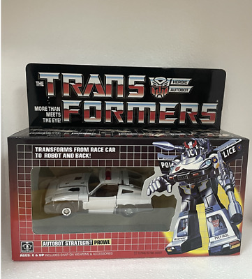 £40.73 • Buy TRFORMERS G1 Reissue Prowl Brand New Kids Toy Actionv Free Shipping