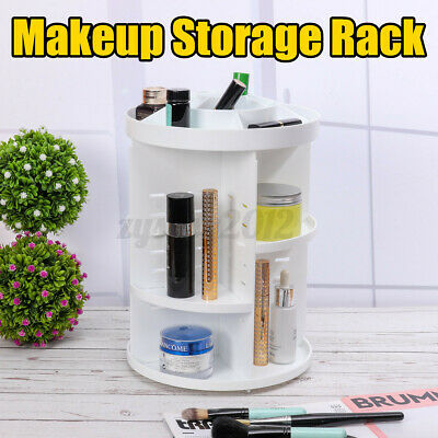 £8.53 • Buy UK Makeup Cosmetic Rack Holder 360° Rotating Organizer Jewelry Storage Stand A