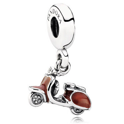 £20 • Buy Pandora Red Scooter Dangle Charm Sterling Silver