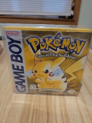 $349.99 • Buy Pokemon Yellow Version Special Pikachu Edition Gameboy - Complete In Box Good