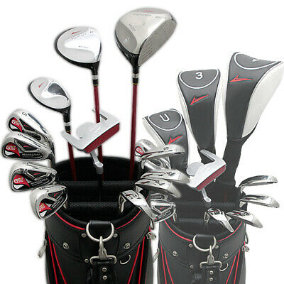 AU941.14 • Buy Authentic School Golf 16-Point Men'S Set 12 Clubs Available For Left Easy-To-Hit