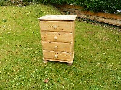 £67 • Buy Victoria Ducal Compact Pine Set Of 4 Drawers