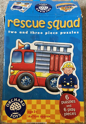 £2.49 • Buy Orchard Toys Rescue Squad Puzzle. Age 2+