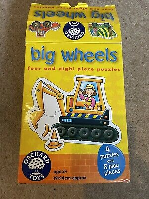 £3 • Buy Orchard Toys Big Wheels Puzzle