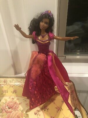 £26.81 • Buy Barbie And The Diamond Castle African American Singing Light Up Barbie