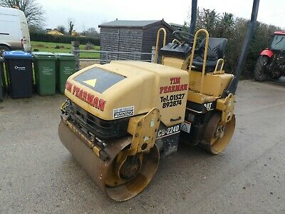 £8999 • Buy Caterpillar Cb224d Sit On Vibrating Roller Year 2002 One Owner Done 1468 Hours