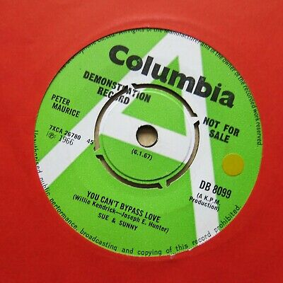 £69.99 • Buy SUE & SUNNY You Can't Bypass Love UK 7  Demo Columbia 1966 Mod Dancer Northern