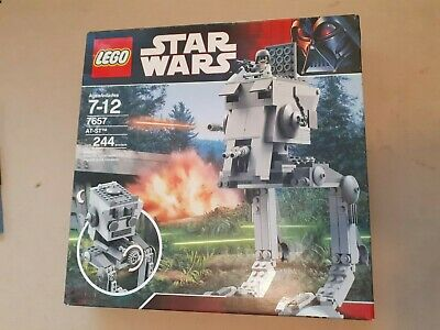 £90 • Buy  Lego Star Wars 7657 At-st New & Sealed Retired Set Box Wear See Pictures
