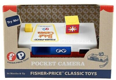 £9.99 • Buy Fisher Price Classic Toys Pocket Camera – Brand New & Unopened