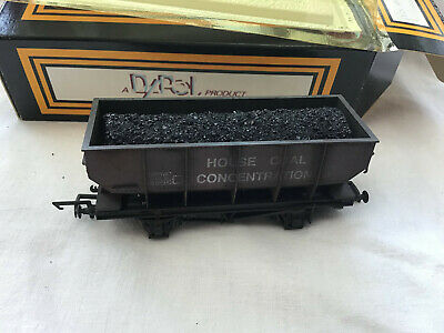 £14.99 • Buy Dapol 00 B124 House Coal Concentration Hopper Wagon ( Weathered )  - Boxed