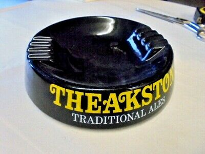 £9.99 • Buy Vintage  Theakstons Old Peculier Ceramic Ashtray Perfect Condition By Wade