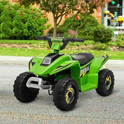 £59.99 • Buy HOMCOM 6V Kids Electric Ride On Car With Big Wheels 3-5 Years Old Green