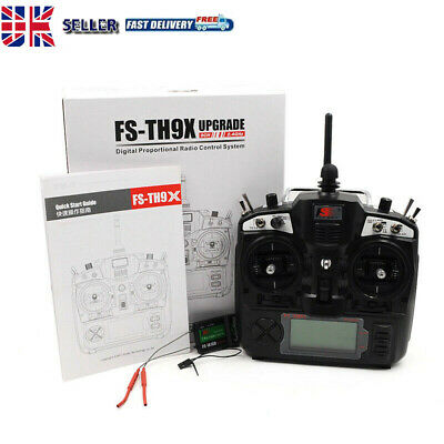£86.99 • Buy 2.4GHz Transmitter Receiver Flysky FS-TH9 Radio Controller For RC Drone Car Boat
