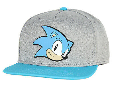 £15.22 • Buy Sonic The Hedgehog Face Snapback Youth Hat