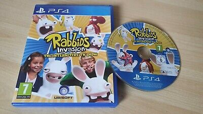 AU19.86 • Buy Rabbids Invasion: The Interactive TV Show PS4 Kids Game