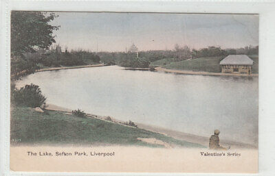£1.50 • Buy The Lake Sefton Park Liverpool 1883 Valentines 3357 Old Postcard Unposted