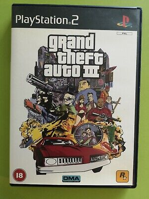 £4 • Buy Grand Theft Auto III 3 (Sony PlayStation 2, 2001) PS2. With Manual And Map
