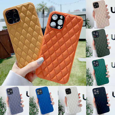 AU12.99 • Buy For IPhone 12 Mini 11 Pro Max XR XS 8 7 Plus Case Luxury Leather Silicone Cover