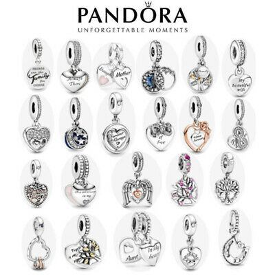 £8 • Buy ALE S925 Genuine Silver Pandora Family & Friends Dangle Charm New With Gift Bag