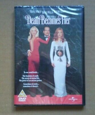 £5.99 • Buy Death Becomes Her - 1992 Black Comedy Fantasy - Bruce Willis, Goldie Hawn (DVD)