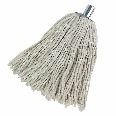 £6.95 • Buy Cotton Rich Heavy Duty Cotton Mop Head Replacements Metal Socket Dry Wet Cleaner