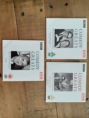 £2 • Buy 3 Comedy DVD Best Of Spike Milligan Two Ronnies Morecambe And Wise