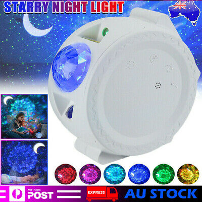 AU39.99 • Buy LED Projector Galaxy Starry Night Light 3 In1 3D Ocean Star Sky Party Lamp Gift