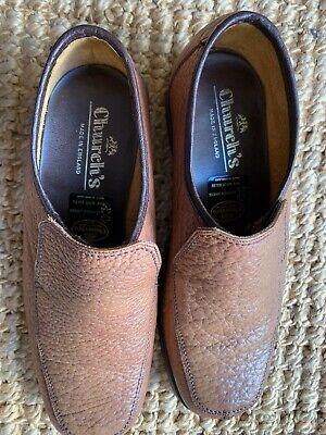 £39.99 • Buy Mens Churchs Tourney Casual Slip On Shoes Brown Vgc Uk 6 100% Genuine Fast Post