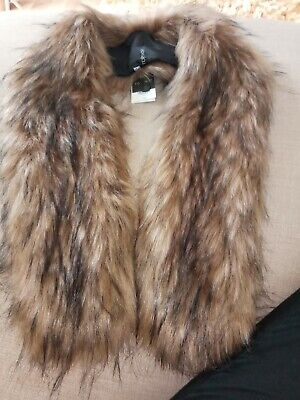 £3.20 • Buy Faux Fur Stole New With Tags