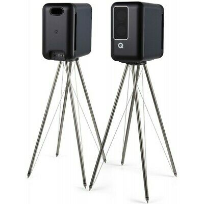 £900 • Buy Q Acoustics Q Active 200 With Matching FS 75 Stands In Black