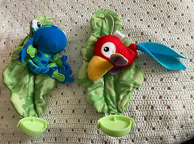 £12.99 • Buy Fisher Price Rainforest Jumperoo Spare Part Hanging Parrot And Frog