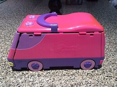 £21 • Buy Vintage 1995 Galoob Pink Pound Puppies Circus Van With 8X Cats & Dogs Figures