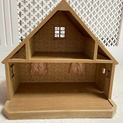 £25 • Buy Sylvanian Families 1980s TOMY Vintage Country Cottage Red Roof House Decorated