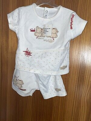 £4 • Buy Baby Shorts & T Shirt - Coco Collection -Age  3-6 Months New Tags