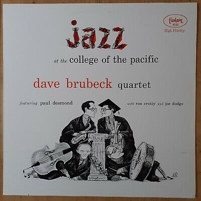 £6.50 • Buy Dave Brubeck Quartet 'Jazz At College Of The Pacific' NM27 357 LM Spanish Ed.