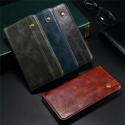 AU12.99 • Buy Stand Leather Case For IPhone 6 6s 7 8 Plus 11 12 13 Pro X XR XS Max Back Cover