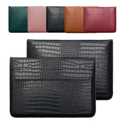 AU19.66 • Buy For MacBook Air 11 13 Pro 15 Retina Leather Laptop Case Sleeve Bag Pouch Cover