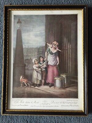 £29 • Buy Cries Of London Prints In Frames (8 Pictures) PLEASE READ.