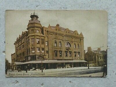 £1 • Buy Postcard Of Middlesbrough Grand Opera House . C 1920