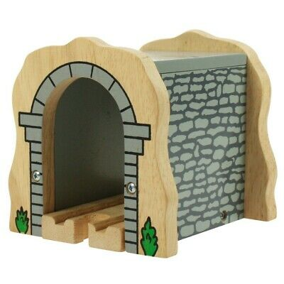 £8.99 • Buy TUNNEL  GREY STONE ~ Wooden Train Track Set ( Fit Brio Thomas ) ~ NEW BOXED NV16