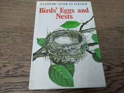 £1 • Buy Birds' Eggs And Nests (Concise Guides In Colour) By Hanzak, Jan Hardback Book