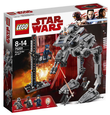 £7.27 • Buy LEGO Star Wars First Order AT-ST 2018 (75201)