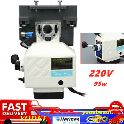 £138 • Buy Horizontal 95w Power Table Feed Milling Machine Cutter  Speed Adjustable 220V