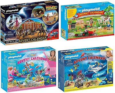 £22.99 • Buy Playmobil Christmas Advent Calendars With Action Figures And Accessories