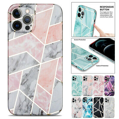 AU11.99 • Buy For IPhone 13 12 Mini 11 Pro Max 8 7 XR X Plus Case Marble Shockproof Soft Cover