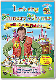 £2.99 • Buy Let's Sing Nursery Rhymes With Justin Fletcher (DVD, 2011) New & Sealed