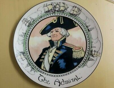 £8.99 • Buy Royal Doulton  The Admiral  PlateT.C.1045 Cabinet Plate The Profestion
